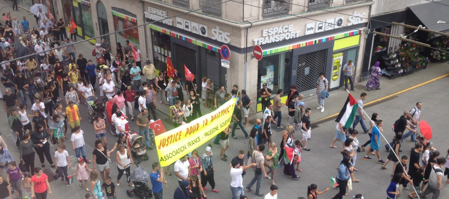 Loi Travail : Manifestation devant le palais de justice de St-Etienne