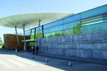 Atterrissage à L'aéroport de Bouthéon.