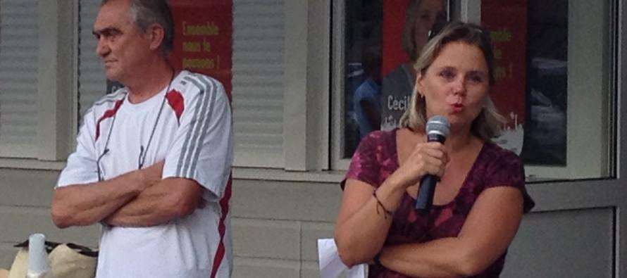 Cécile Cukierman condamne la nouvelle région