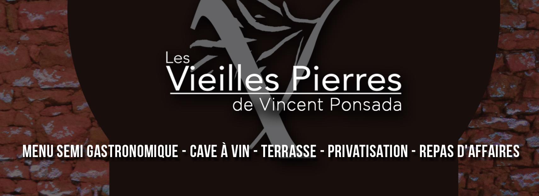 Vincent ponsada reprends le restaurant les vieilles pierre for Restaurant la talaudiere