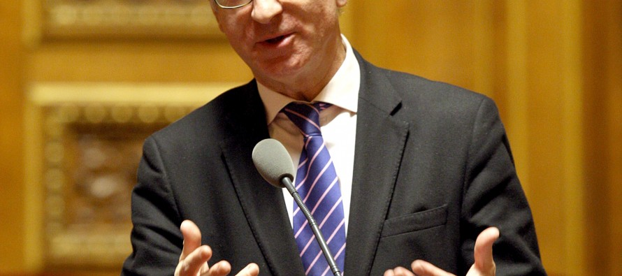 Sénat : Gérard Larcher et Bernard Fournier