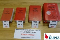 Le mouvement DUPES, initié en 2013 dans la Loire