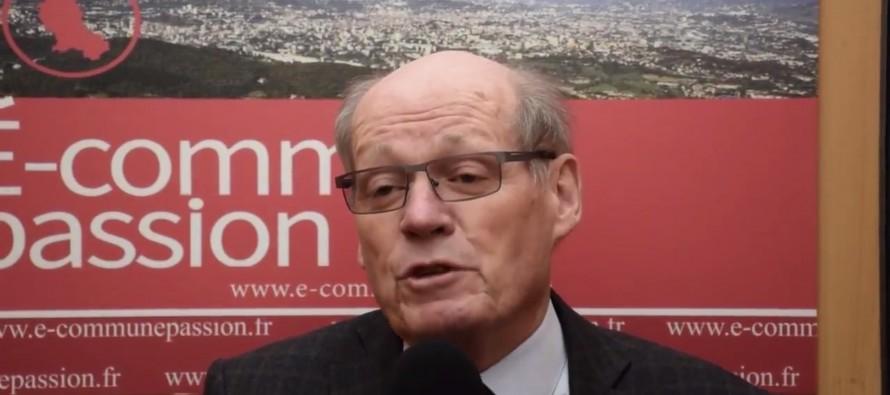 Guy Fabre, maire de Saint-Just-la-Pendue
