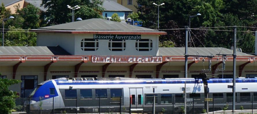 La gare du clapier de St-Etienne réouvre !