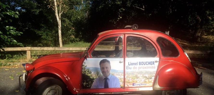 Lionel Boucher en campagne ?