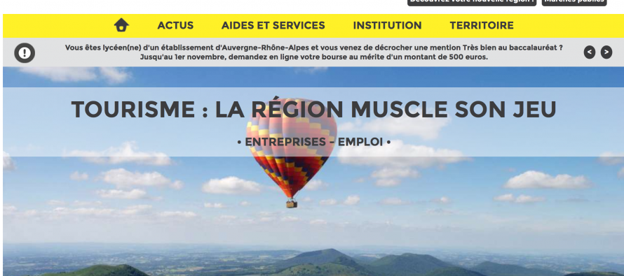 Notre région : Première région touristique française cet été
