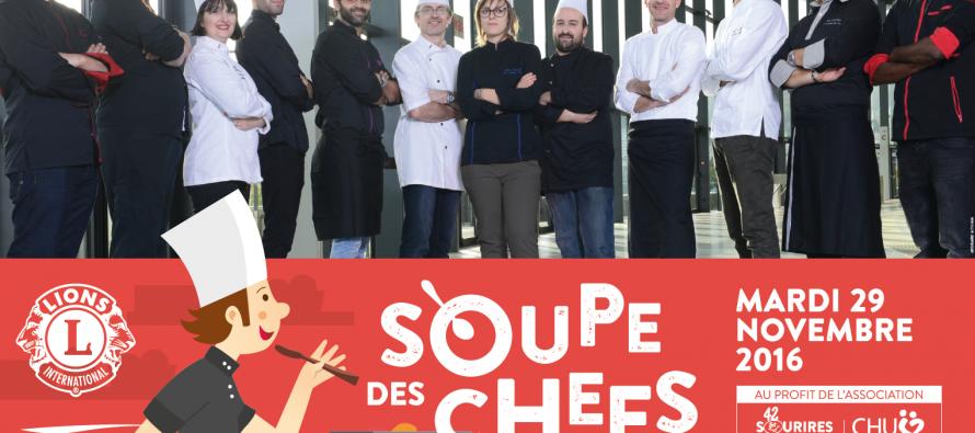 Les restaurateurs présentent : La soupe des chefs !