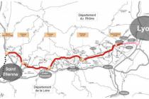Lyon et la A45