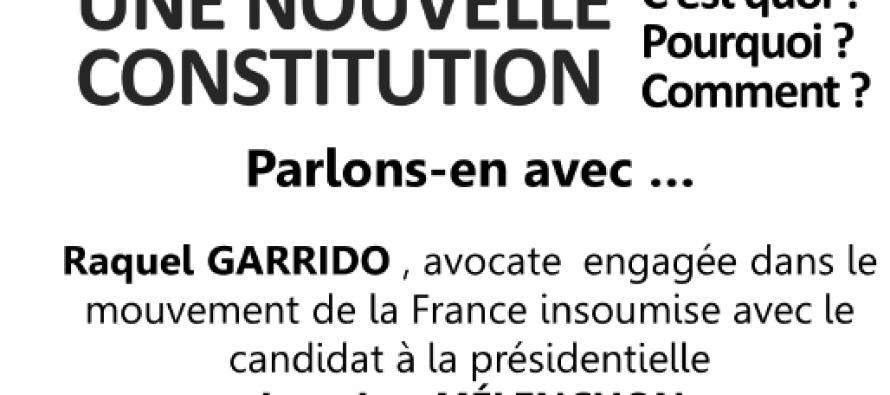 Mme Garrido soutient M Mélenchon.