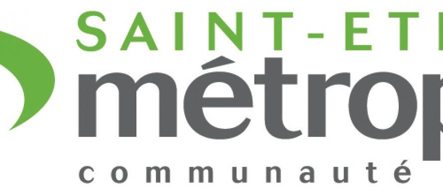Logo de St-Etienne Métropole : Avant / Après