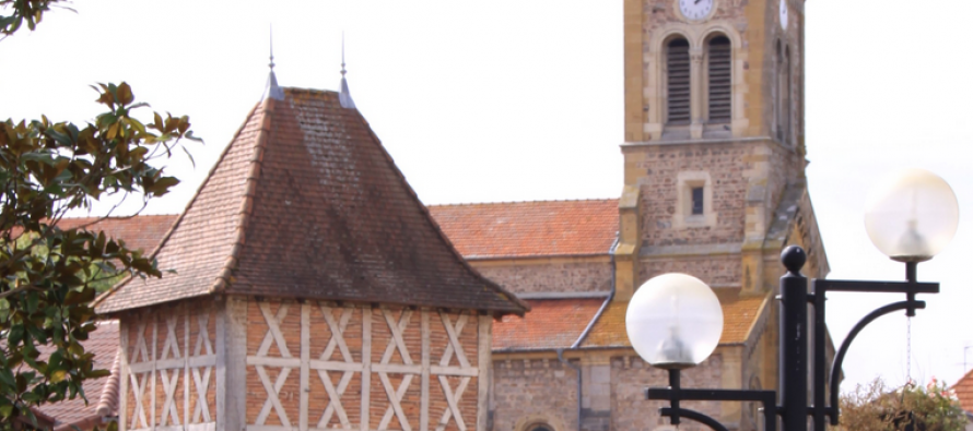 Saint-Germain-Lespinasse et Laurent Wauquiez