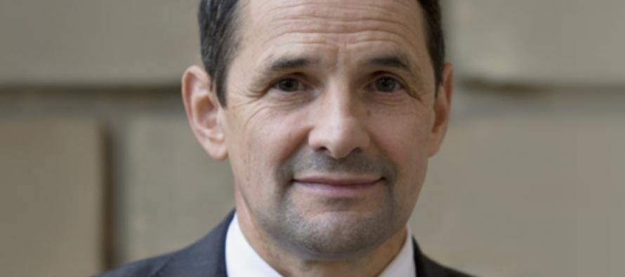 Le secrétaire d'état Thierry Mandon à St-Etienne