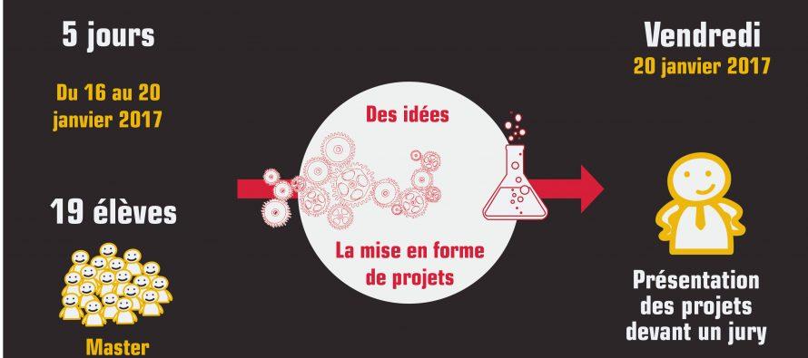 Workshop organisé par LOCAM du 16 au 20 janvier