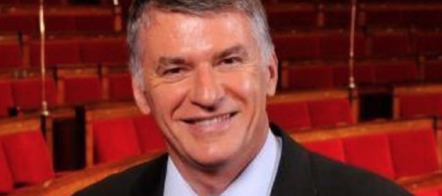 Philippe Folliot, député du Tarn à St-Etienne
