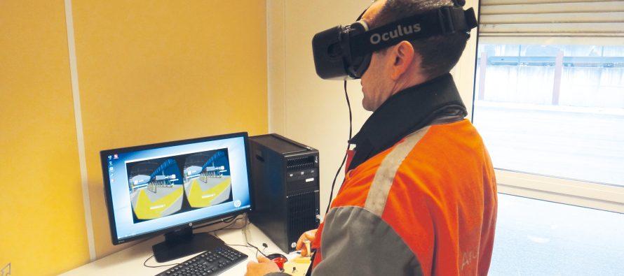 Industeel  La réalité virtuelle au service de la formation