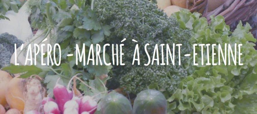 Via Terroirs lance son 1er Apéro-Marché à Saint-Etienne pour soutenir l'organisation du réseau d'approvisionnement local.