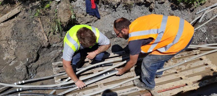 A Ecotay L'Olme ENEDIS enterre 6km de lignes électriques