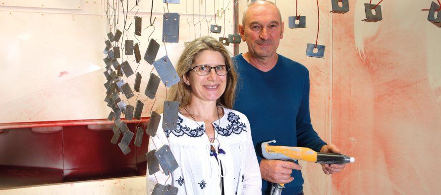 Tubolac investit dans une nouvelle cabine de peinture