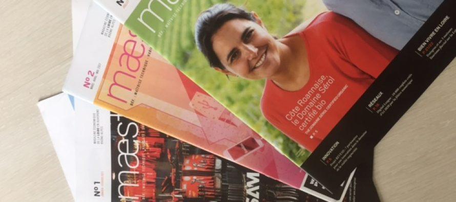 "Le magazine ""maestria"" made in Loire fête ses 1 an."