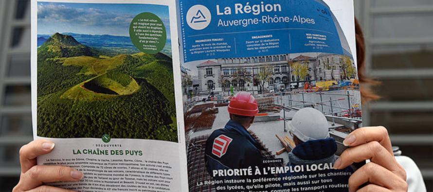 Numéro Un du nouveau magazine de La région et de St-Etienne Métropole