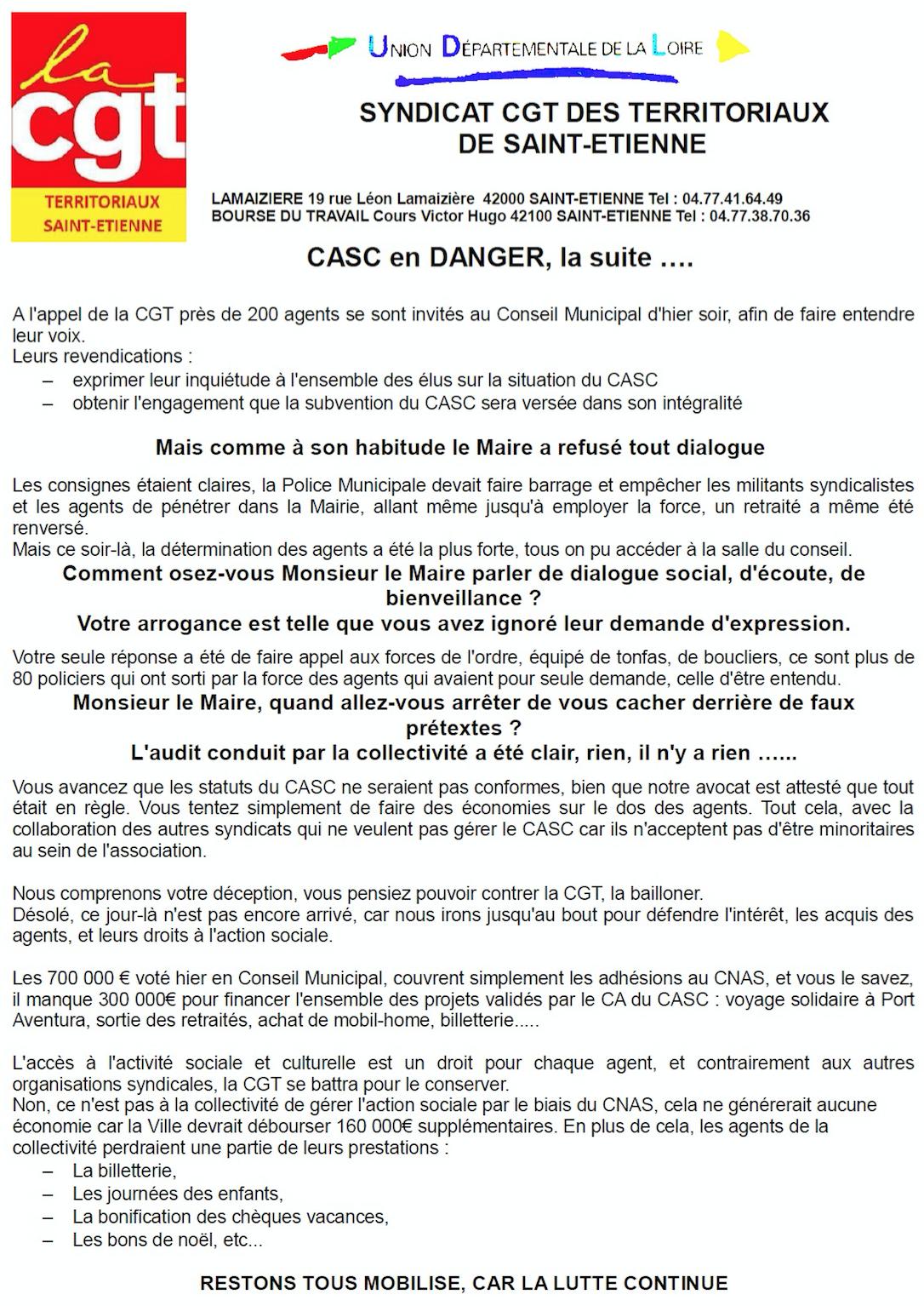 Comite Action Sociale Ville De Marseille